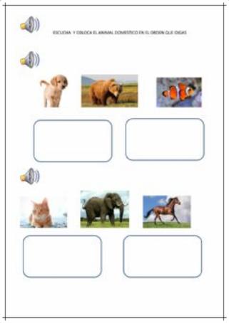 COLOCAR LAS IMÁGENES EN EL ORDEN ESTABLECIDO (Colocar las imágenes en el orden establecido)