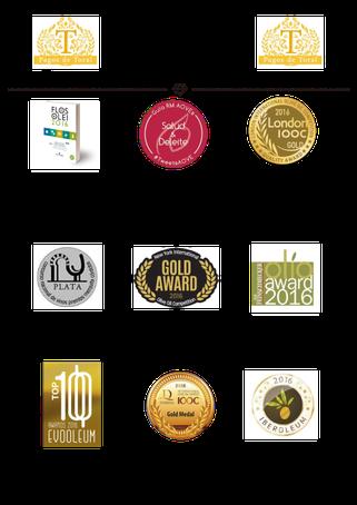 スペイン最高級オリーブジュース受賞歴2016