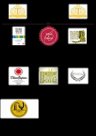 スペイン最高級オリーブジュース受賞歴2015