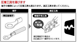 圧着工具の選び方