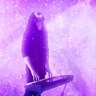 portrait of erang dungeon synth artist