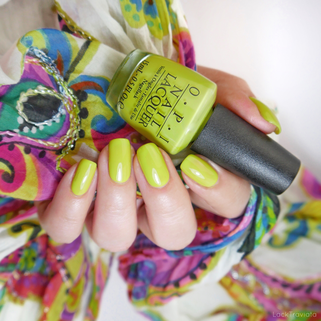 OPI • Life Gave Me Lemons (NL N33) •  Neon Brights Collection (summer 2014)