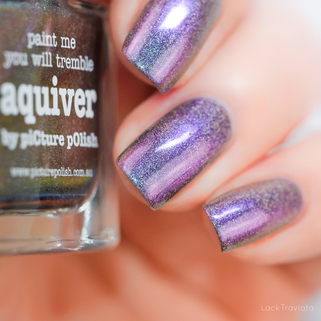 piCture pOlish • aquiver • Linear Holographic Collection Summer 2018