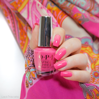 OPI • Strawberry Margarita (ISL M23) • Infinite Shine
