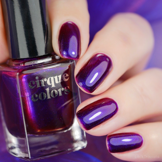 cirque colors • Very Valentino • Limited Edition Charity Polish for Animal Haven (01/2020)