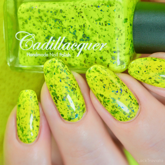 Cadillacquer • Brighten Up Your Day (Summer Flakies Collection 2020)