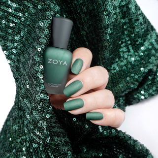ZOYA • VERUSCHKA (ZP506) • Matte Velvet Collection (Holiday 2015)