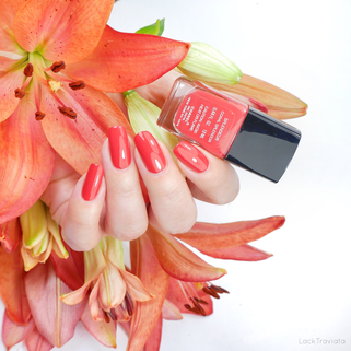 CHANEL • SPLENDEUR CORAL SPLENDOR (VERNIS LAQUE, made in U.S.A.)