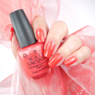 OPI • I Eat Mainely Lobster (NL T30) • Touring America Collection (fall 2011)