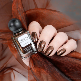 REVLON PARFUMERIE • AUTUMN SPICE • Scented Nail Enamel No. 100