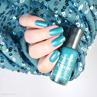 Sally Hansen • Jazzy Jade (402/280) • HARD AS NAILS XTREME wear