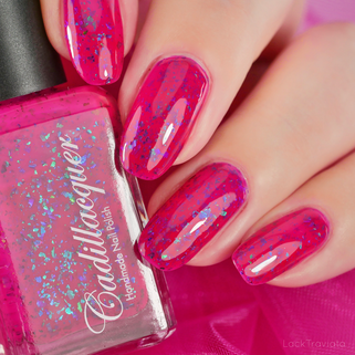 Cadillacquer • Keep Smiling (Summer Flakies Collection 2020)