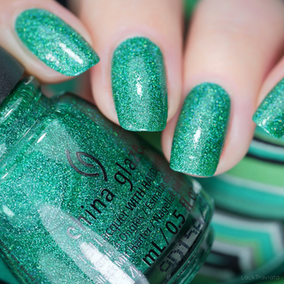 China Glaze • FREE TO BE SESAME (84676) • You Do Hue Sesame Street Collection (summer 2019)