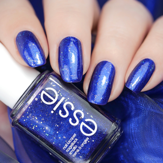 essie • tied & blue (EU 670) • Let it Bow Limited Edition (Holiday 2019)