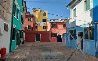 Burano, das farbige Fischerdorf.