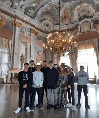 Zu Besuch in einem venezianischen Palazzo des 18. Jahrhunderts.