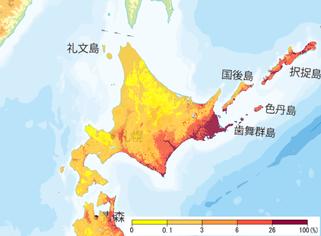 30年以内に震度6弱以上の揺れに見舞われる確率(全国地震動予測地図2016年版による)