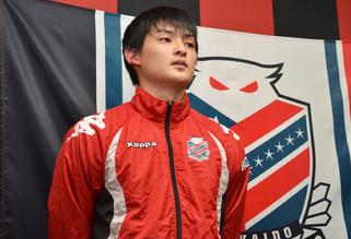 北海道コンサドーレ札幌・濱大耀選手