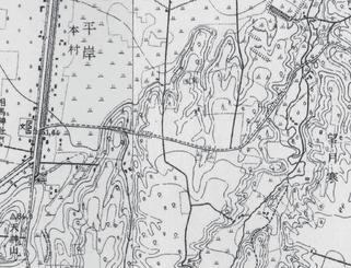 大正7年アンパン道路周辺地図