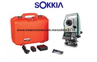 estacion total sokkia cx-65 y sus accesorios