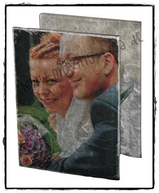 Hochzeitsbild zum Valentinstag originell verarbeitet