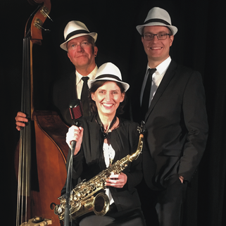 jazzband jazzgruppe saxophon klavier jazz musik swing live