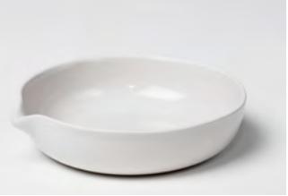 Capsula de porcelana para evaporado con labio Coors Tek No 60230, 60231, 60232, 60233, 60234, 60236