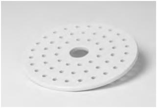Plato para Desecador de porcelana Coors Tek No 60452, 60453