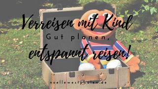 Reise reisen Koffer Ernie Kind Kinder Urlaub Trolley Rucksack Gras Wiese entspannt Sonne Sommer