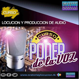 Curso de Locución y Producción para Radio 2017- Artes Audiovisuales JLG