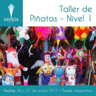 Taller de Piñatas
