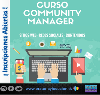 Curso de Community Manager - Artes Audiovisuales JLG
