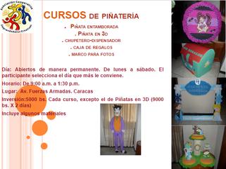 Curso de Piñatería