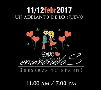 Expo Feria Reto Creativo - Edición Corazones Enamorados