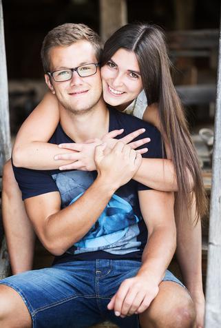 Stefanie Glasner und Peter Walchshofer