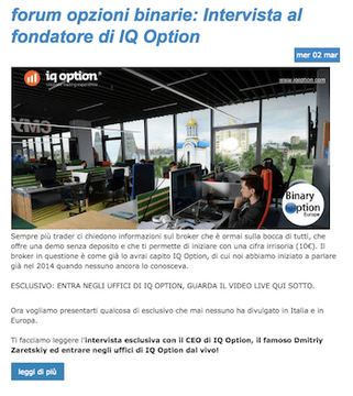 intervista fondatore iq option dimitri