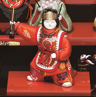 真多呂人形 瑞花雛11人飾りの蘭陵王