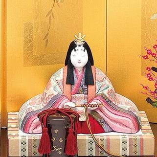 真多呂人形 本金 寿鶴雛(女雛)