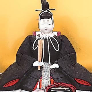 真多呂人形 有職雛(男雛)品番:1281
