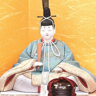 真多呂人形 本金 春麗雛(男雛)