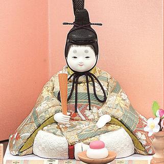 真多呂人形 香桜(男雛)