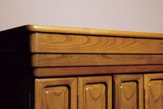 欅仏壇「ゆたか2型 彫」20号 台輪