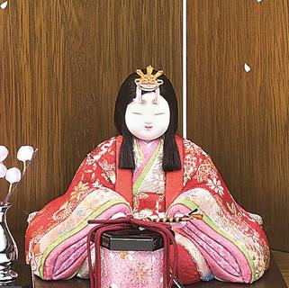 瑞花雛(女雛)