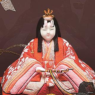 真多呂人形 春香10人飾りの女雛