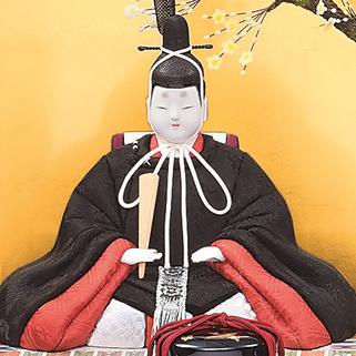 真多呂人形 有職雛(男雛)品番:1277