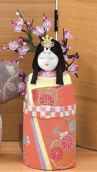 真多呂人形 ほほえみ(女雛)