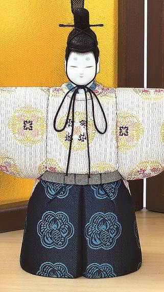 真多呂人形 春明立雛(男雛)