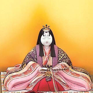 真多呂人形 本金 鳳凰雛(女雛)