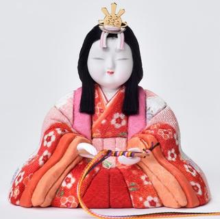 真多呂人形 東山雛(女雛)