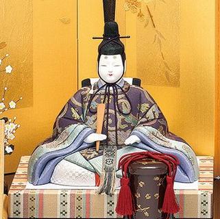 真多呂人形 本金 寿鶴雛(男雛)
